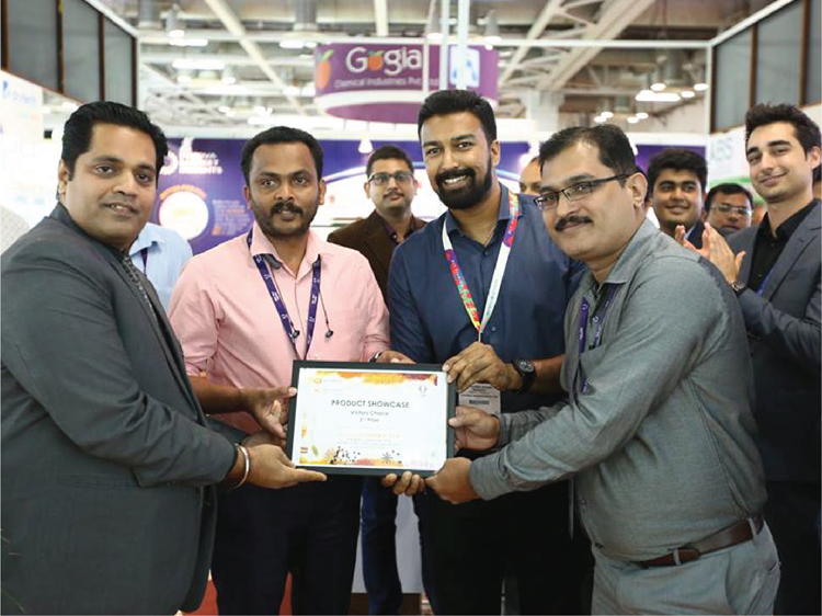 Kancor's TastyKan voted as one of the top 3 most innovative ingredients at FI-India 2018